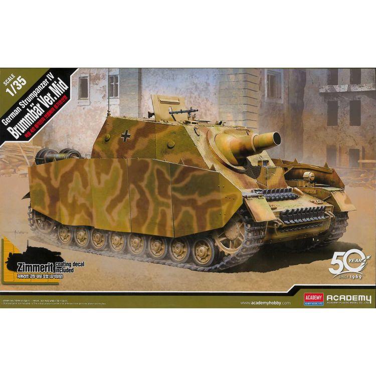 Model Kit military 13525 - German Strumpanzer IV Brummbär Ver.Mid (1:35)