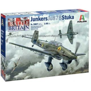 Model Kit letadlo 2807 - Ju-87B Stuka - Battle of Britain 80th Anniversary (1:48)