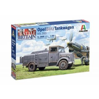 Model Kit military 2808 - Opel Blitz Tankwagen Kfz. 385 - Battle of Britain 80th Anniversary (1:48)