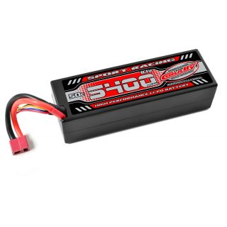 Power Racing 50C - 5400mAh - 3S - 11,1V - T-DYN - Hardcase