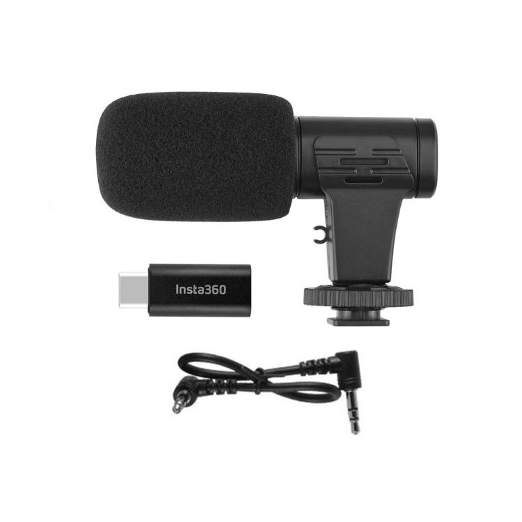 Insta360 ONE R - 3.5mm Audio Adapter & Microphone