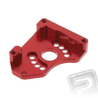 Hliníkový držiak motora, červený, Nero