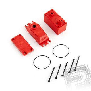 ADS V2 plastová krabička serva, červená