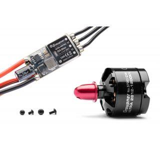 Combo set Telemetrická regulace HOTT 35Amp SBEC + Ultra 2812-1200Kv levotočivý/tlač. (CW)