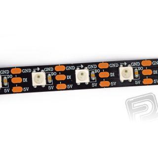 RGB LED WS2812B páska černá 0.45 m 5V DC