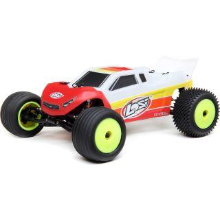 Losi Mini-T 2.0 Brushless 1:18 RTR červená/bílá