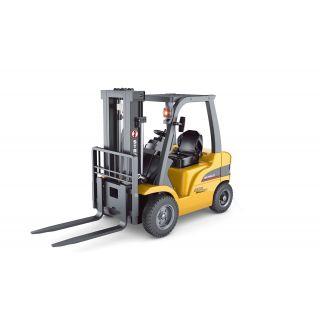 Vysokozdvižný vozík, 1:10, RTR, 2,4 GHz, kovová vidlica, zvuk