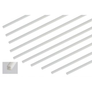 ABS čtyřhranný profil 2x2mm, 1m, 10ks.
