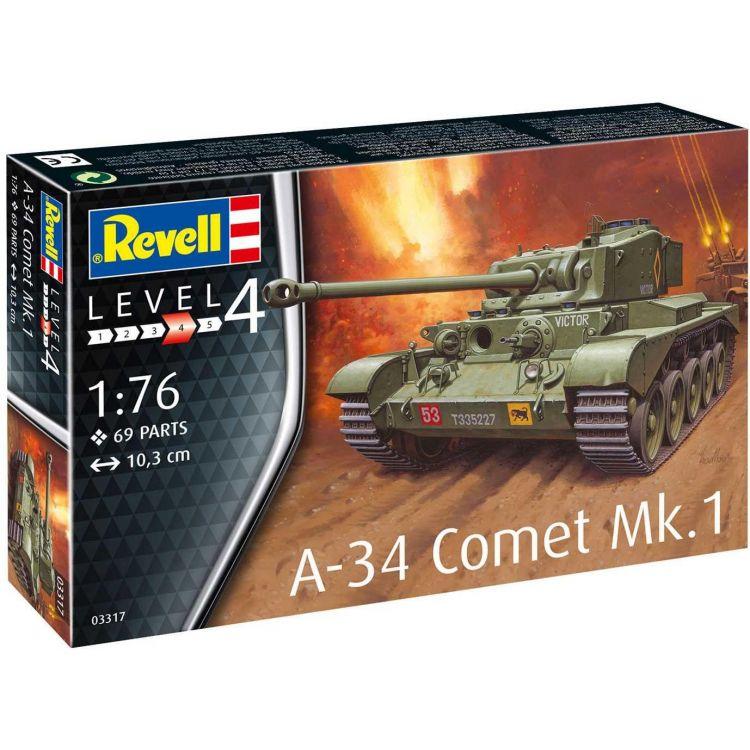 Plastic ModelKit tank 03317 - A-34 Comet Mk.1 (1:76)