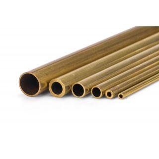 Mosazná trubička tvrdá 2.0/1.4mm 1m