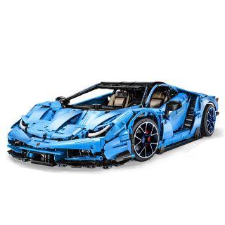 Závoďák - Super Car RC stavebnice z kostek