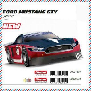 Auto Carrera EVO - 27636 Ford Mustang GTY No.17
