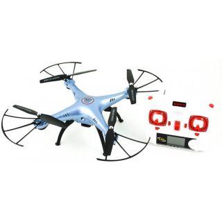 RC kvadrokoptéra Syma X5UW, FPV 1MP kamera WiFi, funkciám vznášania a plánovaním ciest, červena