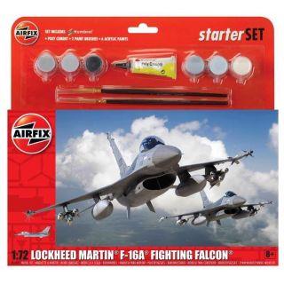 Starter Set letadlo A55312 - General Dynamics F-16A/B Fighting Falcon  (1:72)
