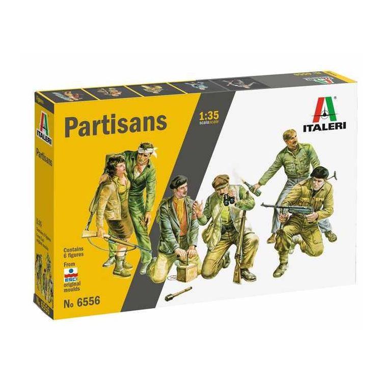 Model Kit figurky 6556 - Partisans (1:35)