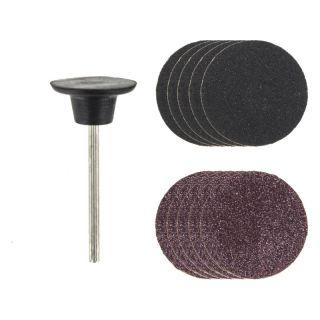 Rotacraft stopkový unašeč s brusnými disky (sada)