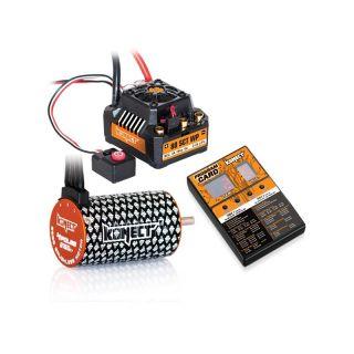 COMBO BRUSHLESS 80Amp SCT WP s 4P 3660SL 3150Kv motorem + programovací karta