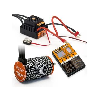 COMBO BRUSHLESS 100Amp WP s 4P 4268SL 1900Kv motorem + programovací karta