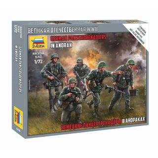 Wargames (WWII) figurky 6270 - German Panzergrenadiers (1:72)