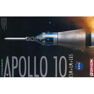 Model Kit vesmír 11003 - Apollo 10 CSM + LM + LES (1:72)
