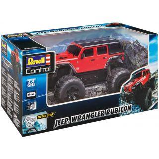 Autíčko REVELL 24464 - Jeep Wrangler Rubicon