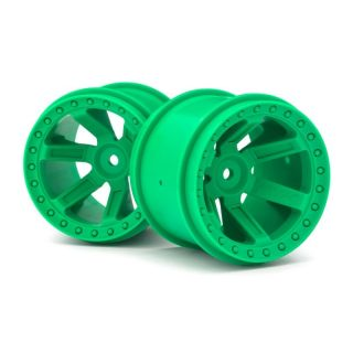 Nalepená kola Quantum MT Zelené 2ks