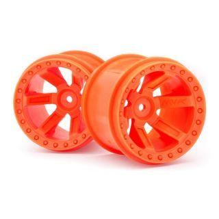 Nalepená kola Quantum MT Oranžové 2ks