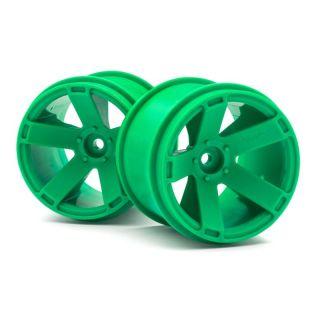 Nalepená kola Quantum XT Zelené 2ks
