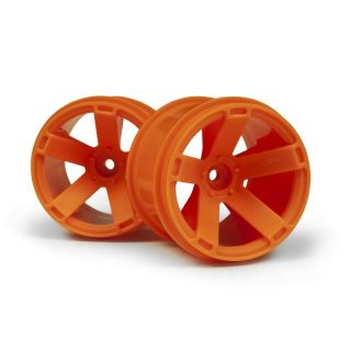 Nalepená kola Quantum XT Oranžové 2ks