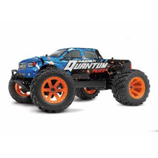 Quantum MT Flux 1/10 4WD Monster Truck - Modrý