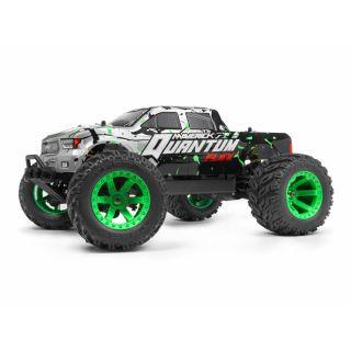 Quantum MT Flux 1/10 4WD Monster Truck - Stříbrný