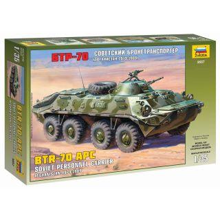Model Kit military 3557 - BTR-70 APC (Afghan Version) (1:35)