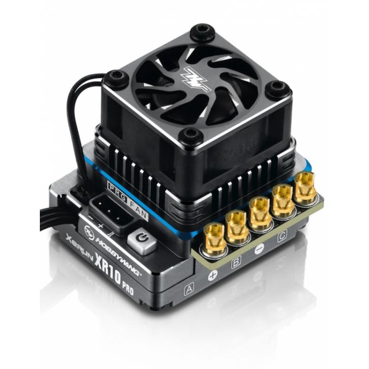 XERUN XR10 PRO G2 160A Elite - modrý - regulátor