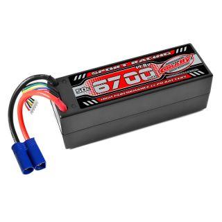 Power Racing 50C - 6700mAh - 4S - 14,8V - EC5 - Hardcase