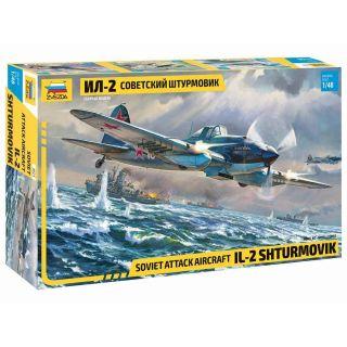 Model Kit letadlo 4825 - IL-2 Stormovik (1:48)