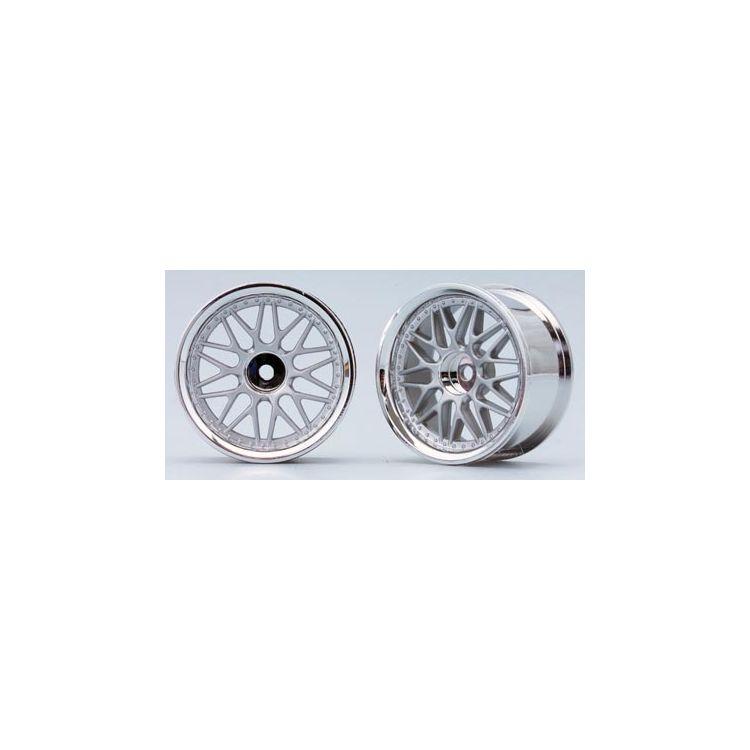 10-paprskové disky (Matně stříbrná)