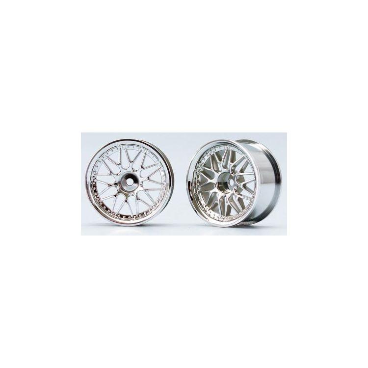 10-paprskové disky (Chromová)