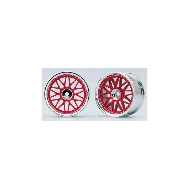 10-paprskové disky (Červená)
