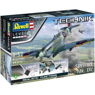 Plastic ModelKit TECHNIK letadlo 00457 - Supermarine Spitfire Mk.Ixc (1:32)