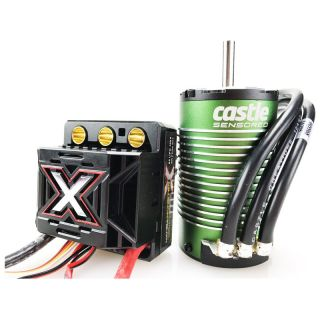 Castle motor 1512 1800ot / V senzored s reg. Mamba Monster X