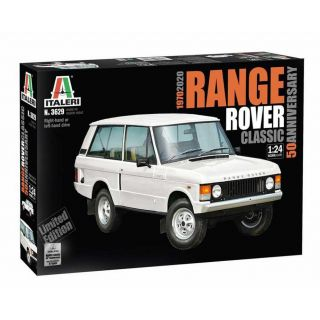 Model Kit auto 3629 - Range Rover Classic (50th Anniversary) (1:24)