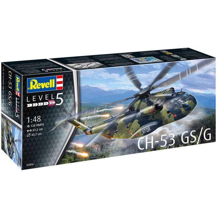 Plastic ModelKit vrtulník 03856 - CH-53 GS/G (1:48)