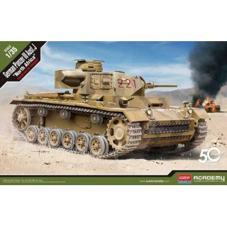 "Model Kit tank 13531 - German Panzer III Ausf.J ""North Africa"" (1:35)"