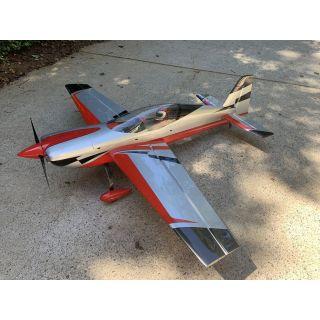 """104"""" Extra NG - Červená/Stříbrná 2,64m"""