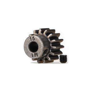 Traxxas pastorok 15T 1.0mm na hriadeľ 5mm HD