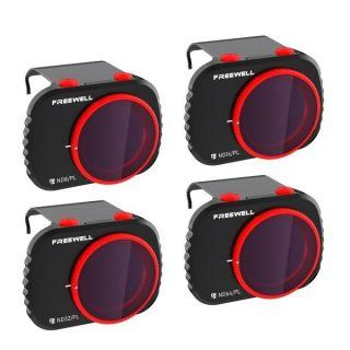Freewell sada čtyř polarizačních ND filtrů Bright Day pro DJI Mavic Mini/Mavic Mini 2