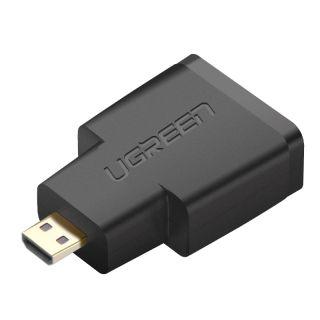 UGREEN 20106 Micro HDMI adapter - DisplayPort (black)