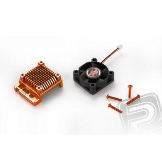 Optionální XERUN XR10 PRE 160A alu obal - oranžový