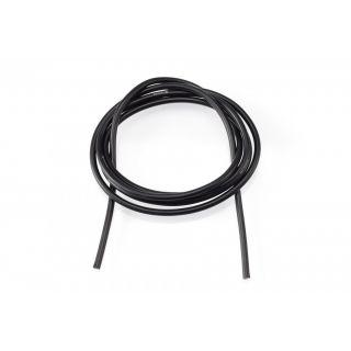16AWG/1,3qmm silikon kabel (černý/1m)