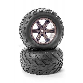 Nalepené pneumatiky 1/12 (2ks) - ANTIX MT-1